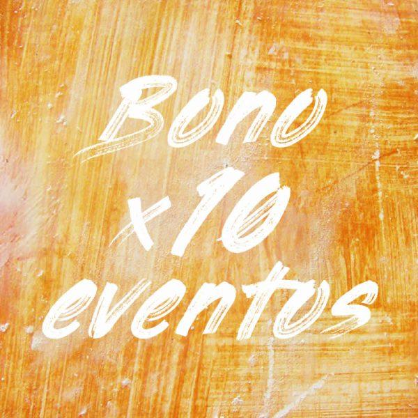 Comprar bono para 10 eventos de Pintaplan descuento