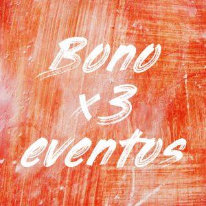 Comprar el bono para 3 eventos de pintaplan